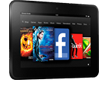Kindle Fire HD, 7""